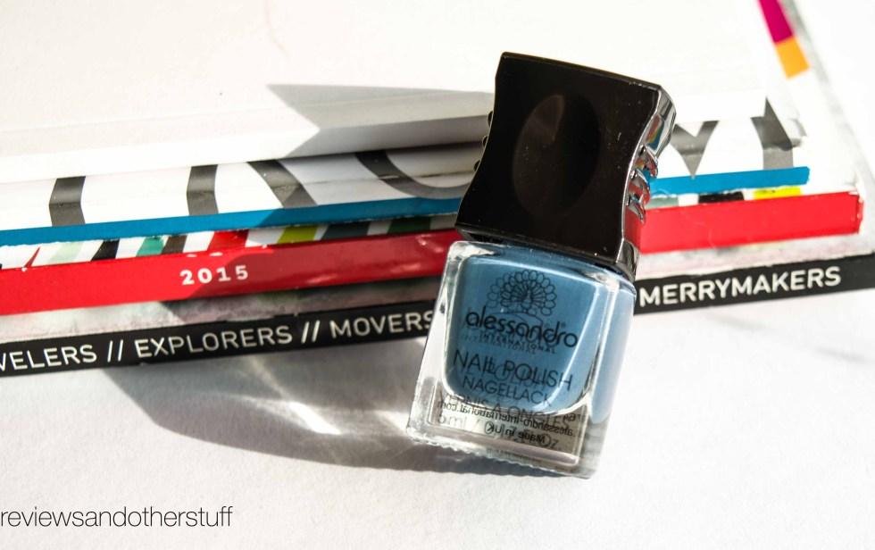 alessandro nail polish blue lagoon
