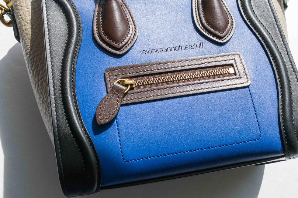 celine nano luggage handbag