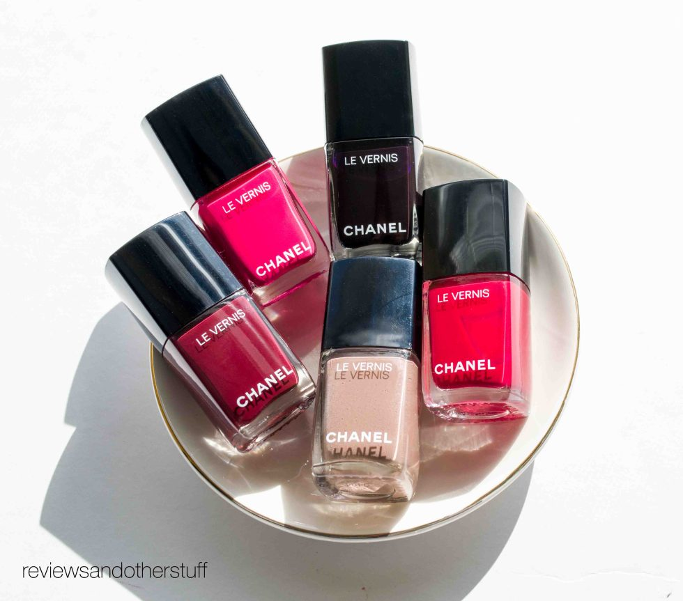 chanel new le vernis
