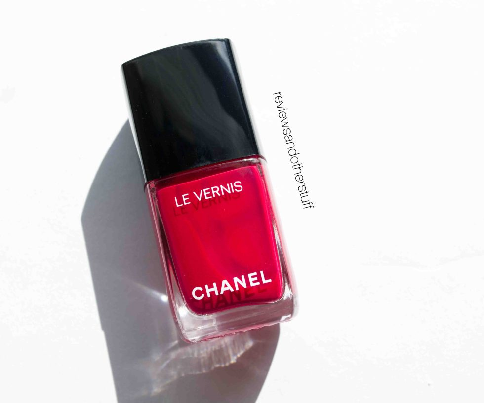 chanel le vernis shantung review