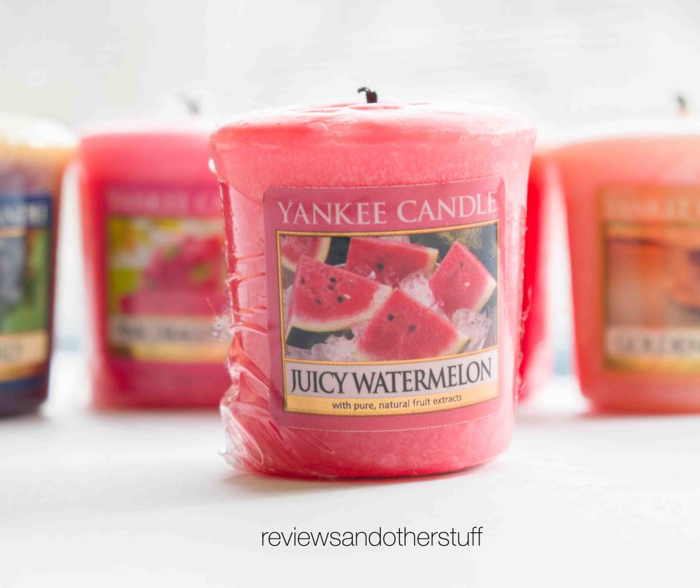 yankee candle juicy watermelon review