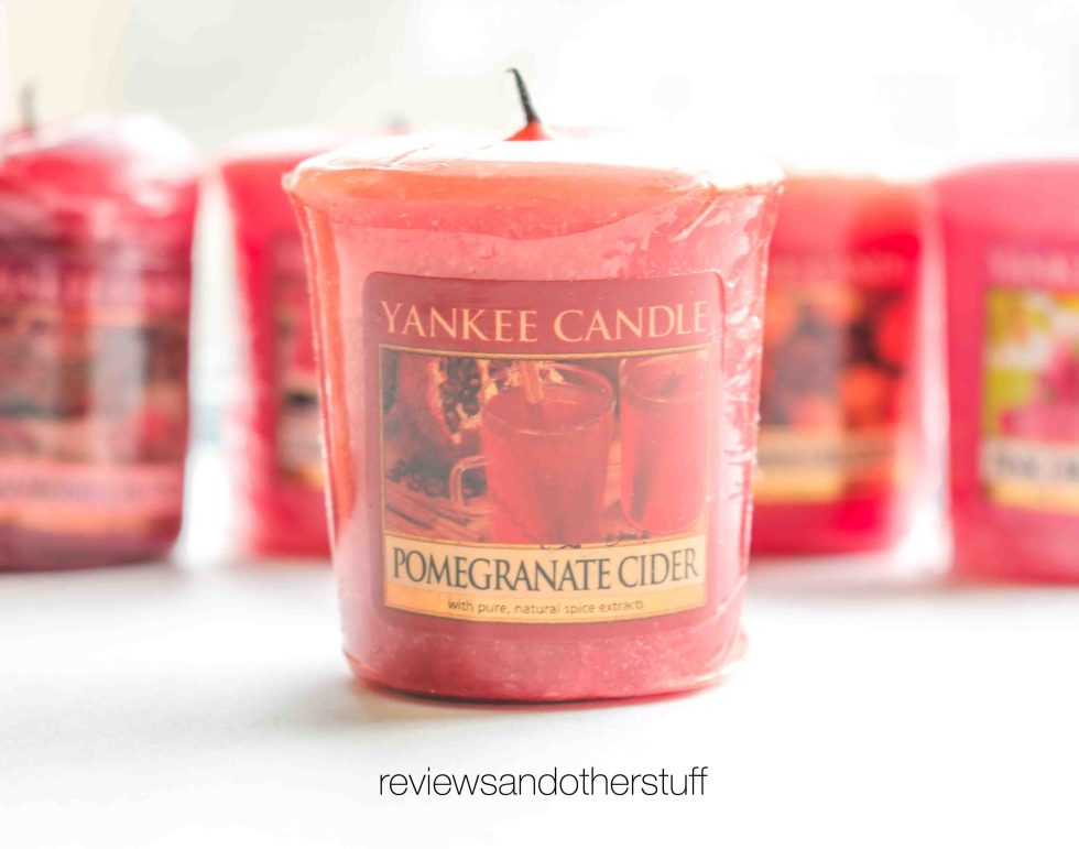 yankee candle pomegranate cider review