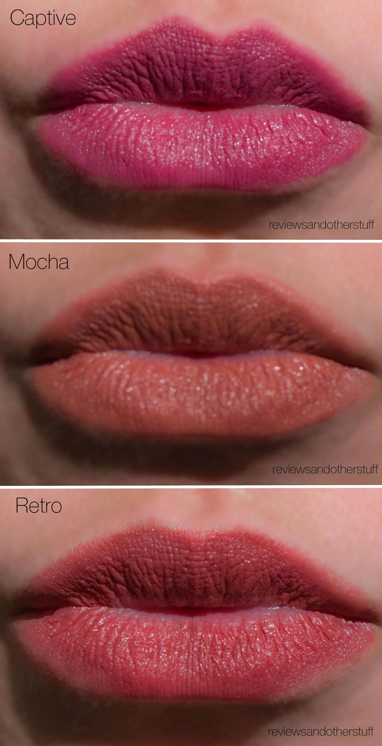 Review Mac Eye Shadow In Woodwinked: MAC Satin Lipsticks Review