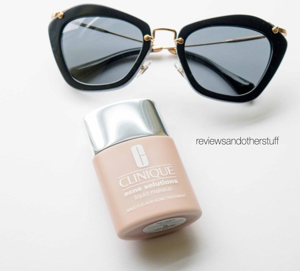 clinique acne solutions liquid makeup review