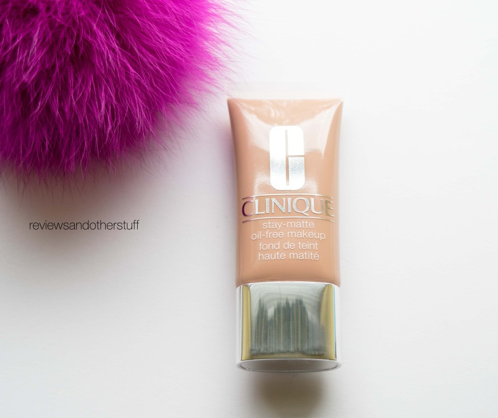 clinique stay-matte oil free liquid makeup