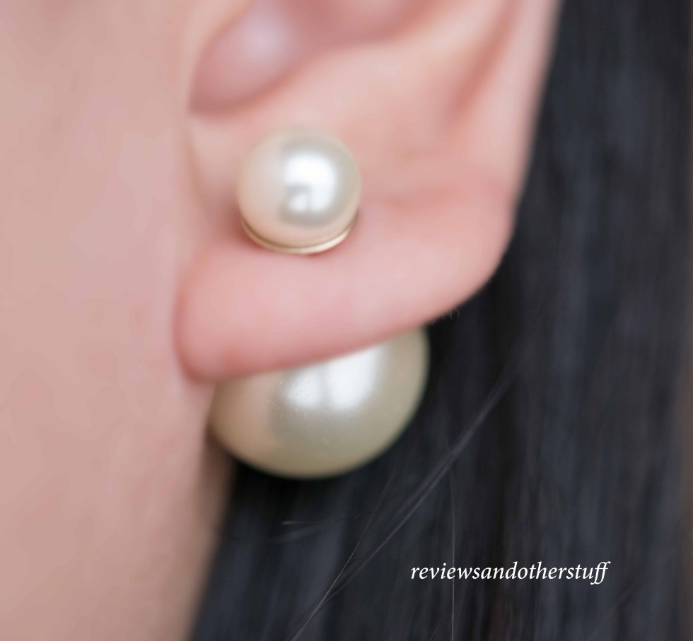 dior mise en dior pearl earrings