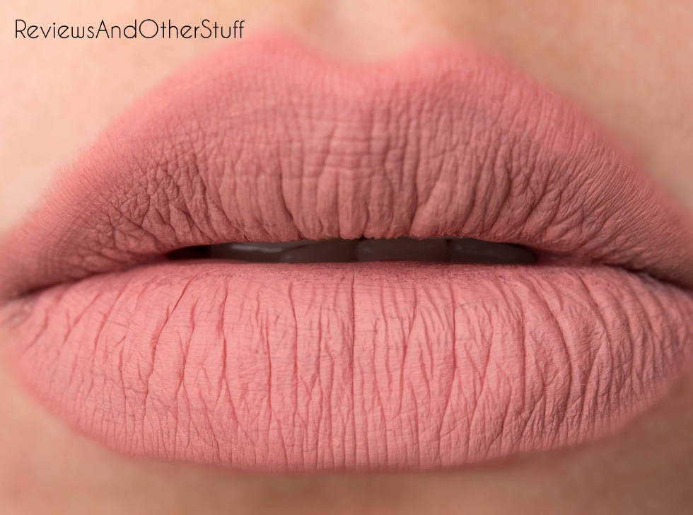 anastasia liquid lipstick in crush
