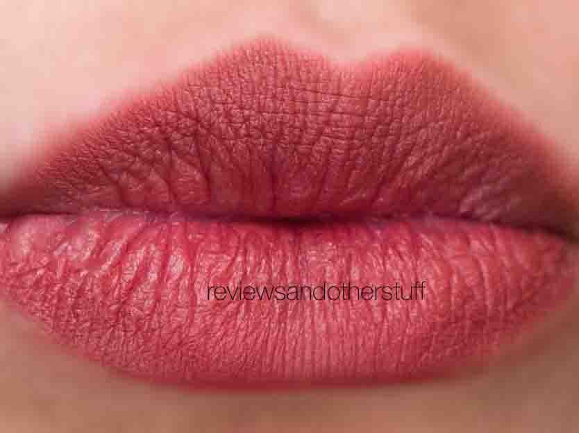 kat von d studded lipstick in lolita swatch