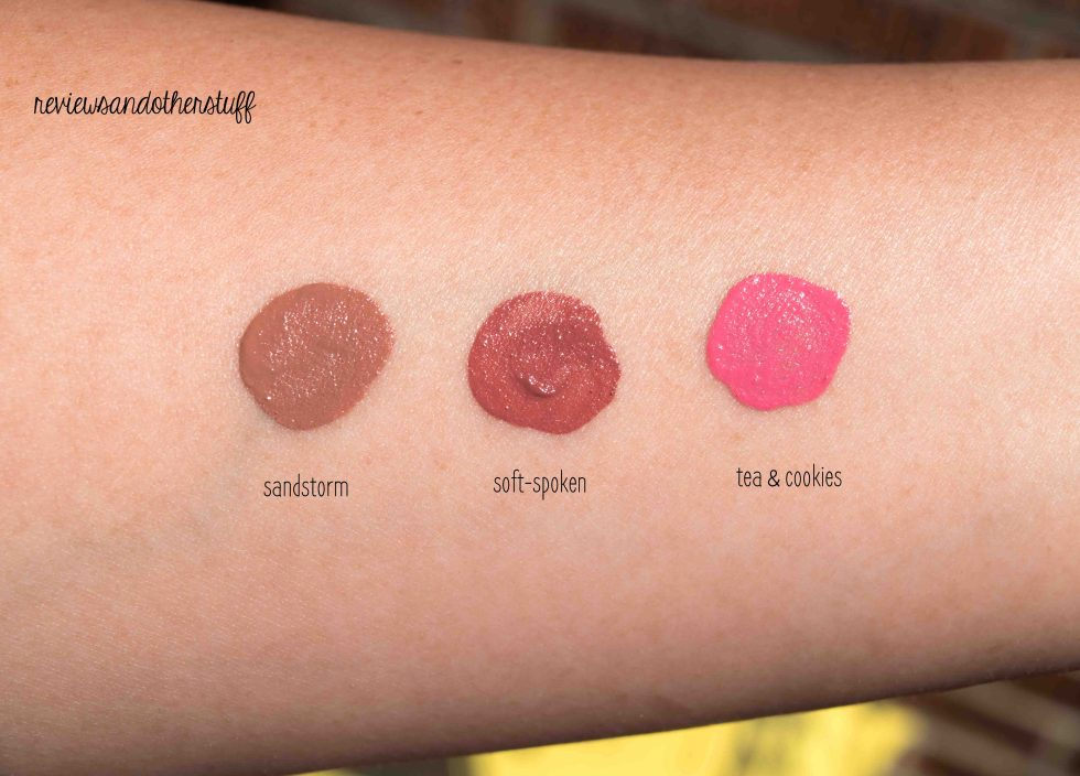 nyx liquid suede cream lipstick swatches and reviews