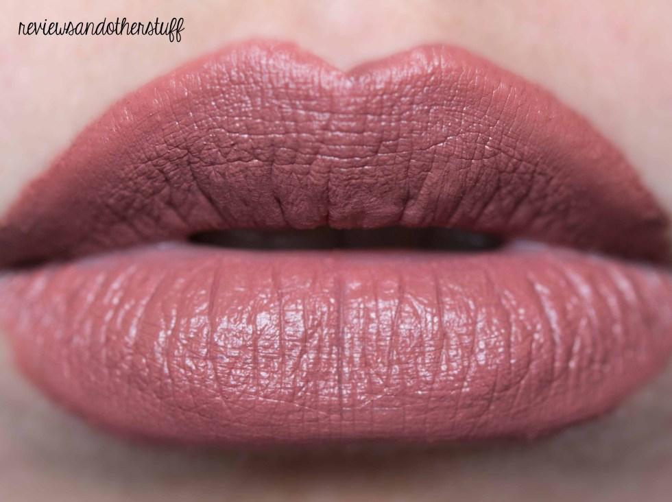 nyx liquid suede cream lipstick in soft spoken review