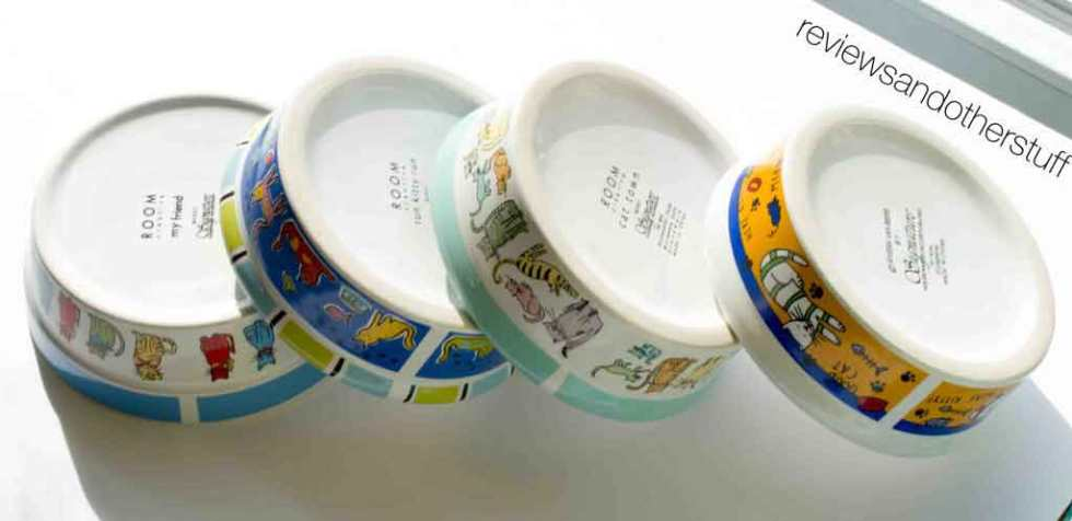 signature housewares cat bowl