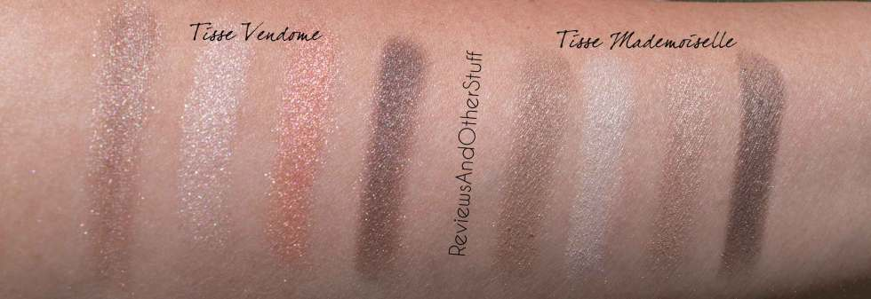 chanel les 4 ombres in tisse mademoiselle and tisse vendome