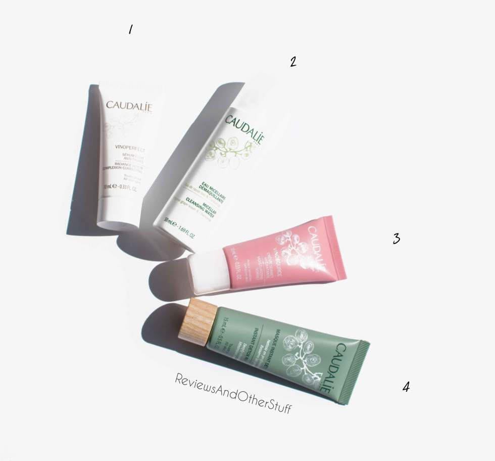 caudalie skin care best sellers