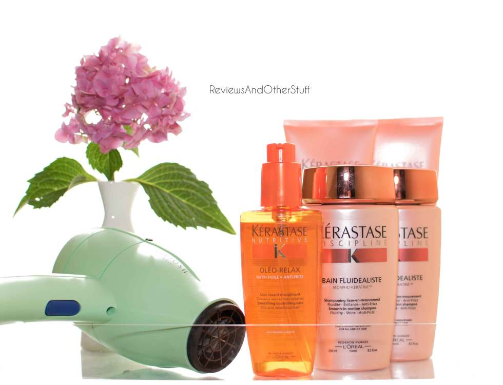 kerastase anti frizz hair products review