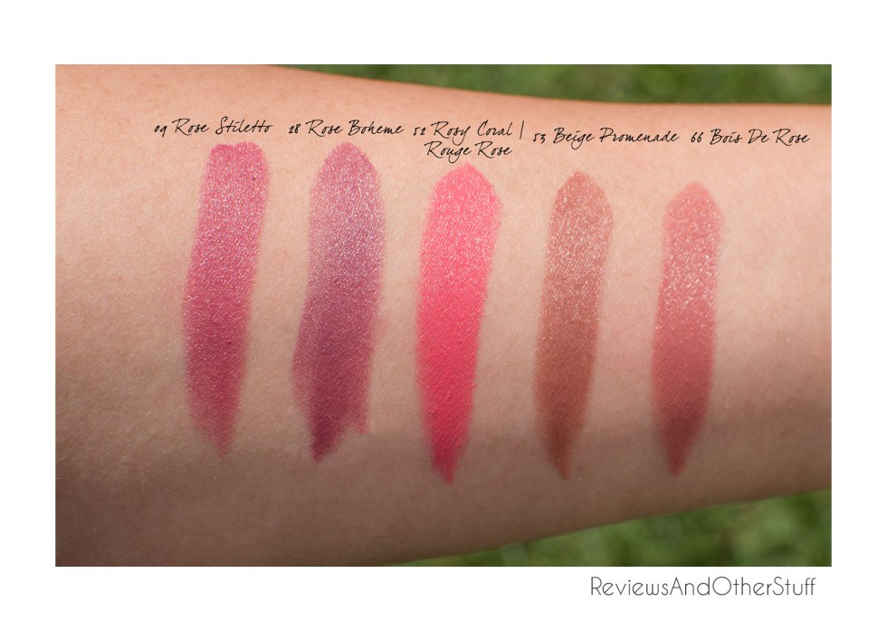ysl rouge pur couture arm swatches reviews
