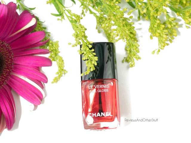 chanel red limited edition rouge radical nail polish