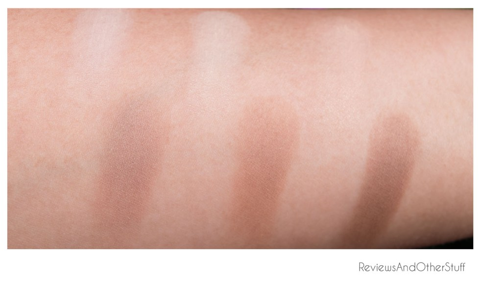 kat von d shade+light contour palette swatches