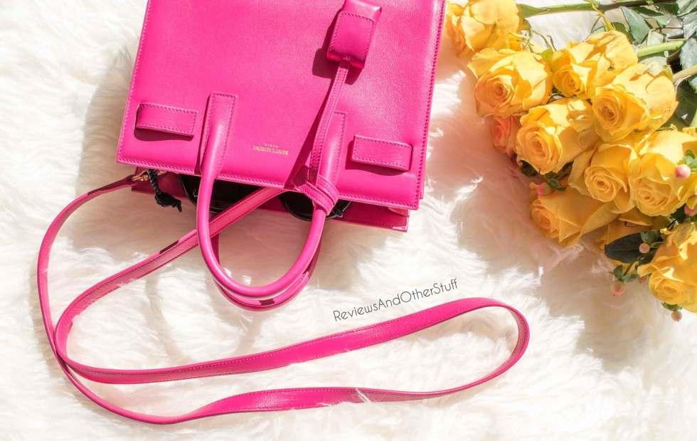 pink ysl nano sac de jour review