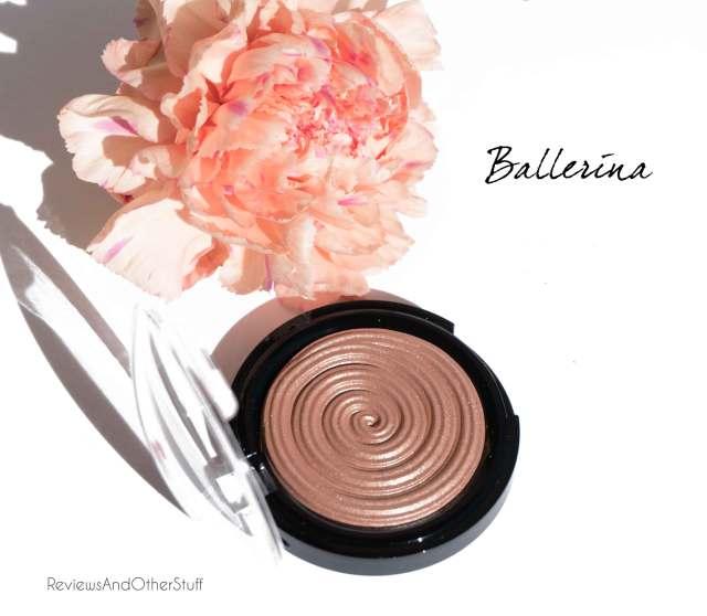 laura geller baked gelato swirl illuminator review in ballerina