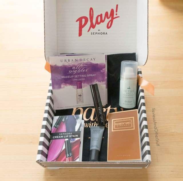 sephora play december box contents