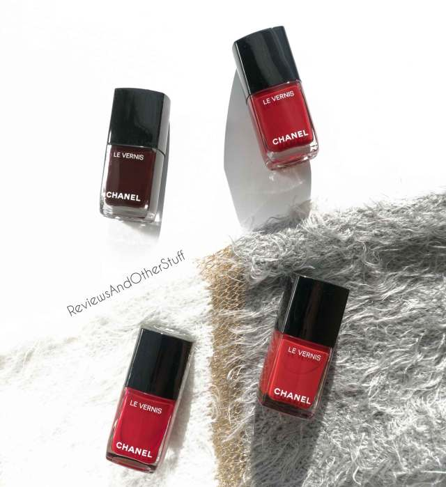 chanel le vernis longwear nail colour reviews swatches