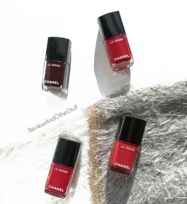 chanel le vernis longwear nail colour reviews swatches