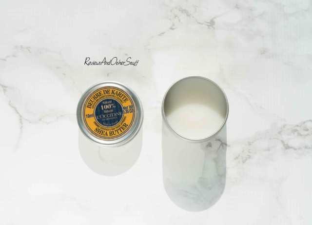 loccitane certified pure organic shea butter