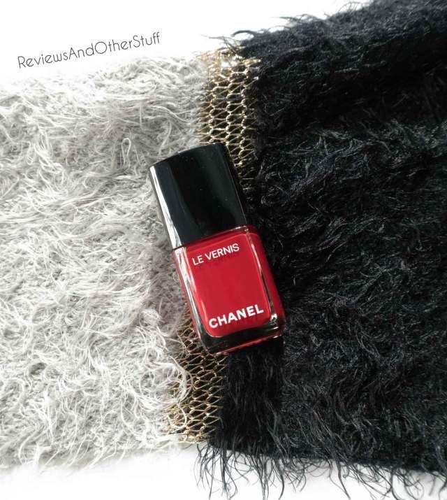 chanel le venis longwear nail colour rouge puissant