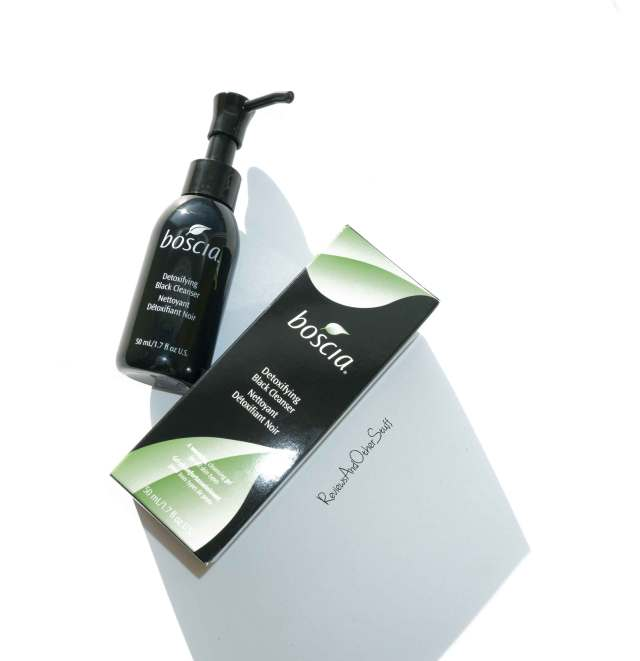 boscia detoxifying black cleanser review