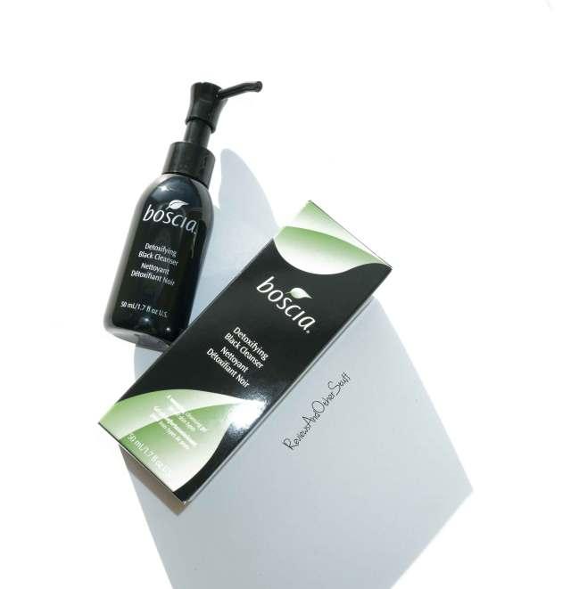 boscia detoxifying black cleanser review