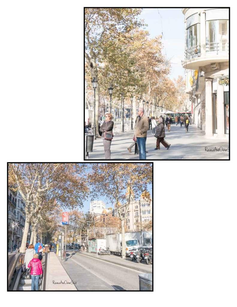 streets passeo de gracia Barcelona