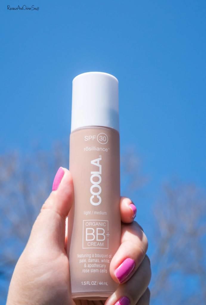 coola rosilliance organic bb cream swatch photo