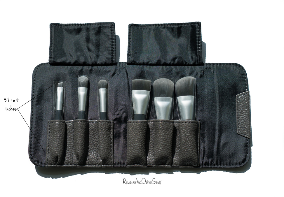 Sephora Collection Mini Deluxe Charcoal Antibacterial Brush Set Review