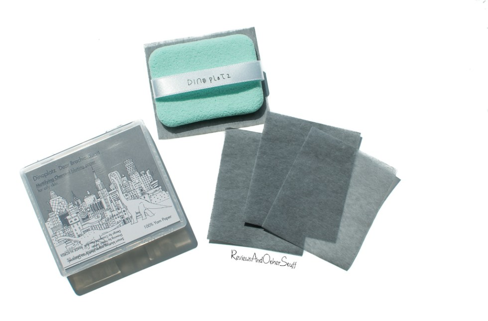 too cool for school dinoplatz mattifying charcoal blotting paper review