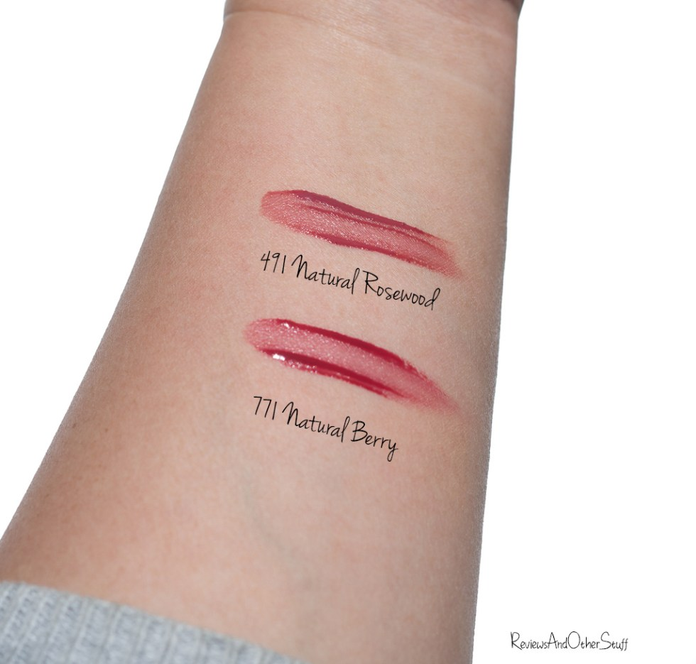 dior lip tint swatch