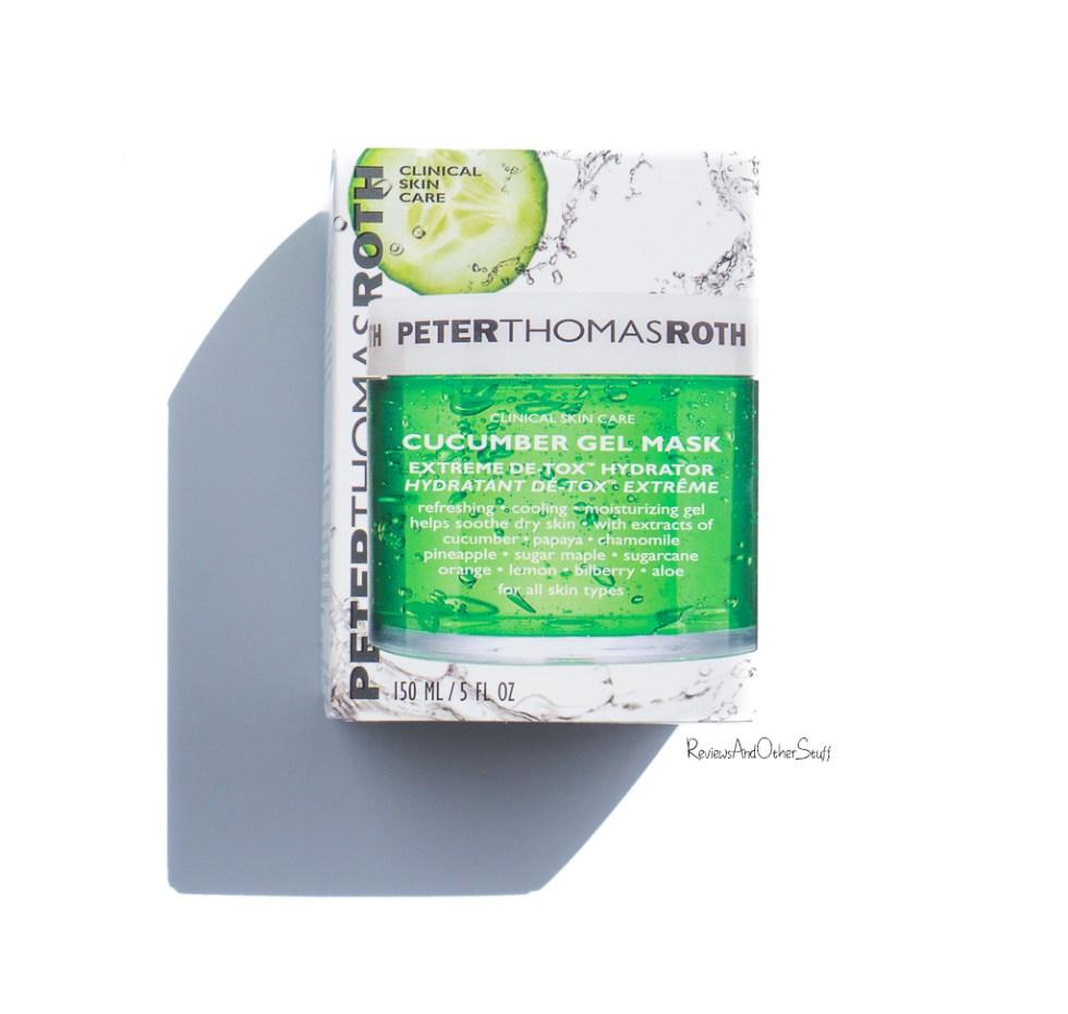 Peter Thomas Roth Cucumber Gel Mask Extreme DeToxifying Hydrator
