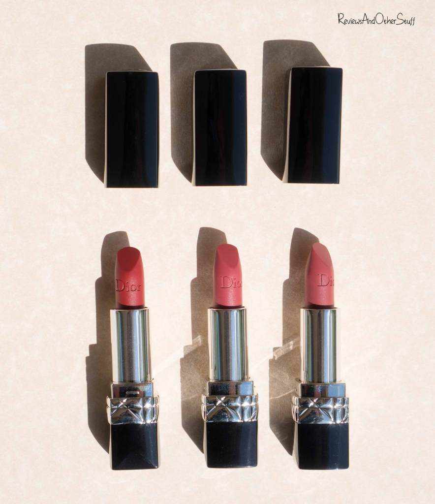 Dior Rouge Dior Matte Lipsticks Review