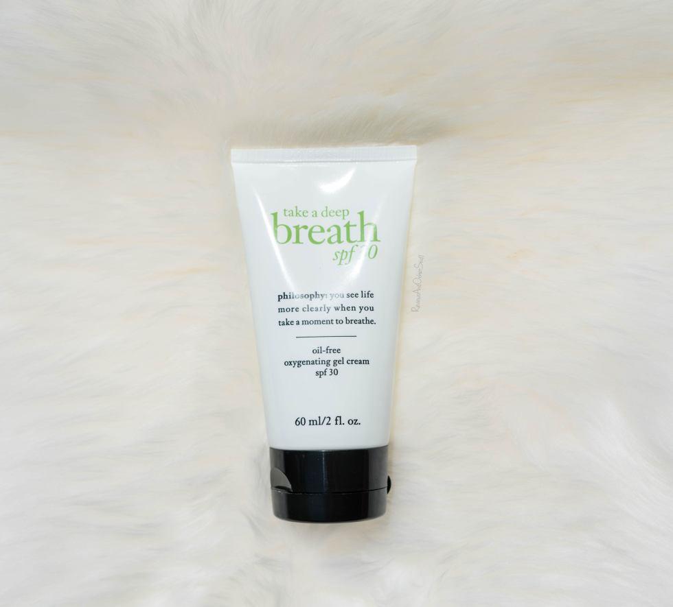 Philosophy Take a Deep Breath Oil-Free Oxygenating Gel Cream Spf 30 Review