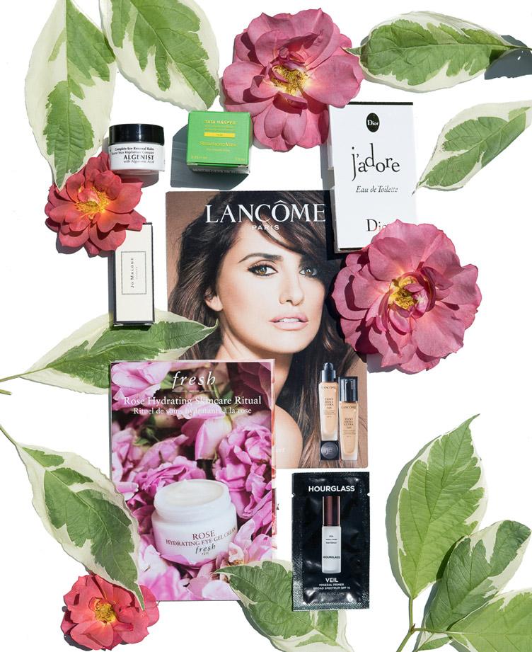 Samples Of The Week: Lancome, Tata Harper, Algenist, Dior, Jo Malone, Fresh & Hourglass