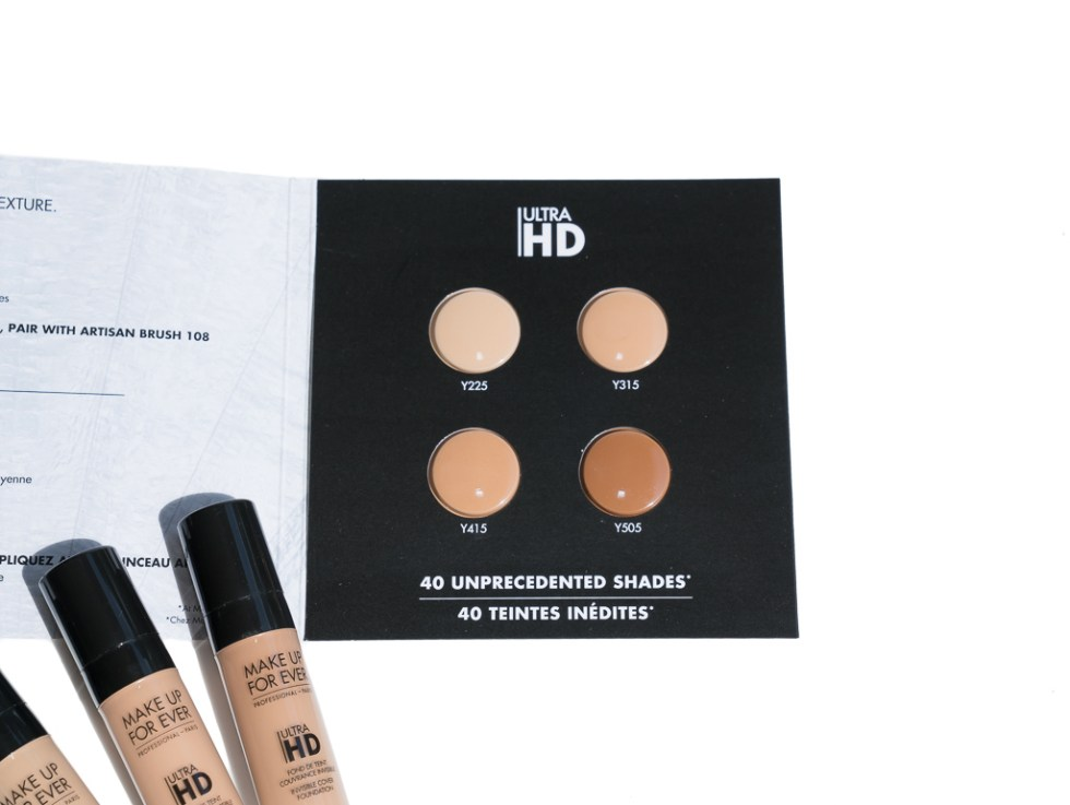 Make Up For Ever Ultra HD Invisible Cover Foundation Review