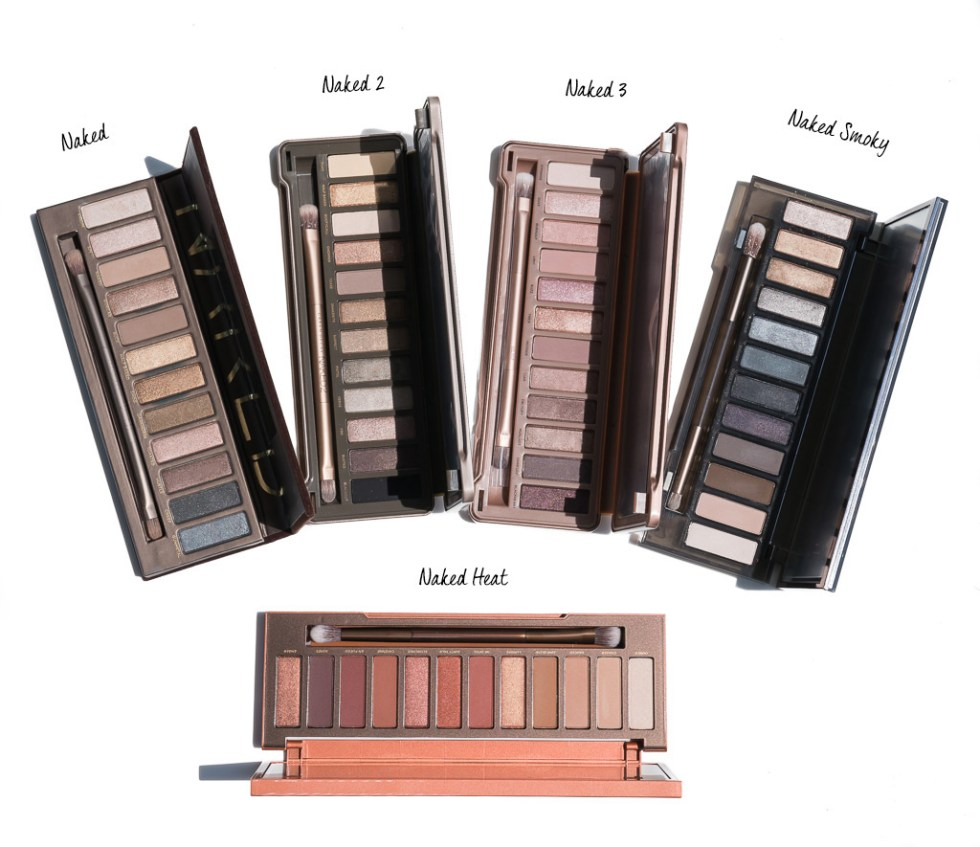 Urban Decay Naked Naked 2 Naked 3 Naked Smoky Naked Heat