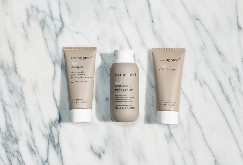 Living Proof No Frizz Shampoo, Conditioner & Nourishing Styling Cream Review