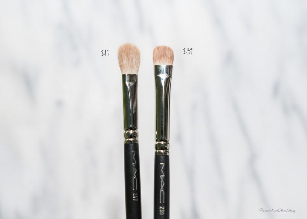 MAC Blending Brush #217 review