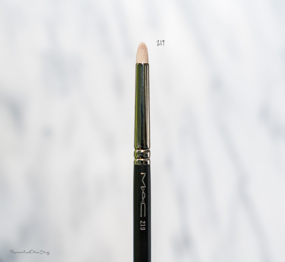 MAC Pencil Brush #219 review