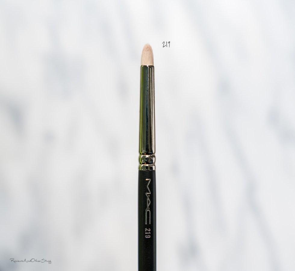 MAC Pencil Brush #219 review