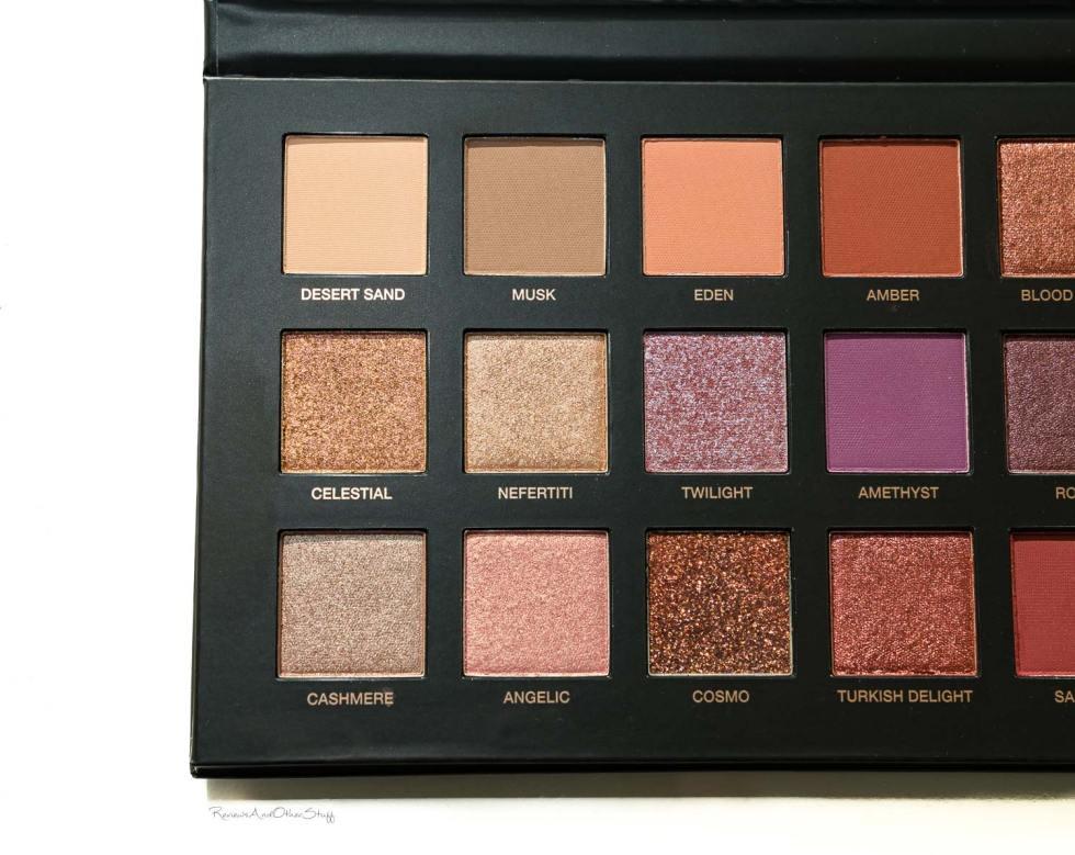 Huda Beauty Desert Dusk Eyeshadow Palette review