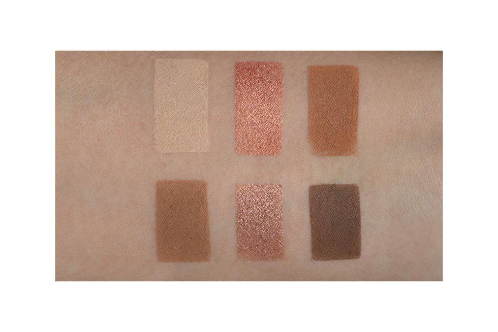 Tarte Tartelette Flirt Eyeshadow Palette swatches