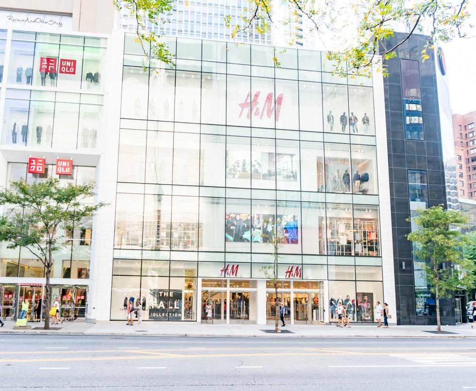 H & M chicago
