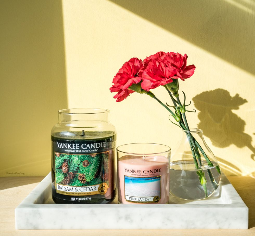 yankee candle pink sands review