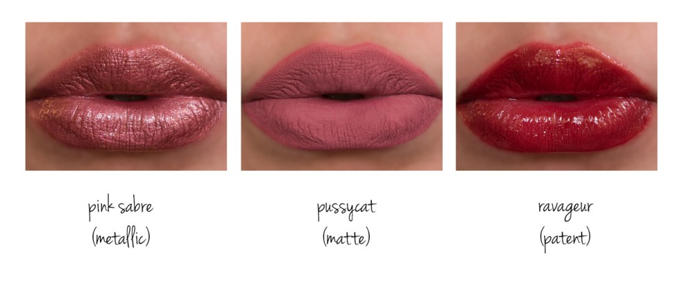 tom ford lip lacquer swatches